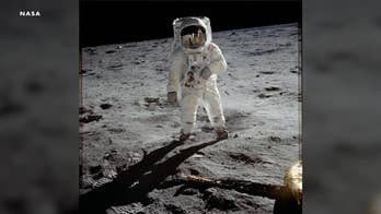 Astronaut recounts watching moon landing with Buzz Aldrin's family