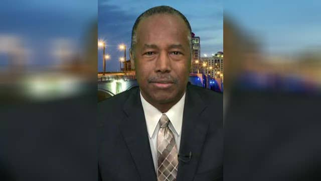 Ben Carson details WH fight to end veteran homelessness