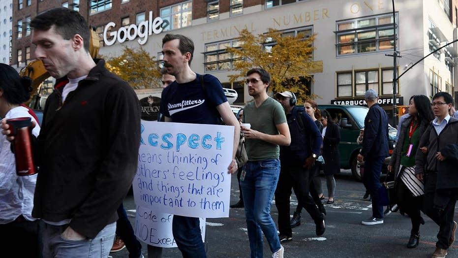 Google employees theatre a walkout