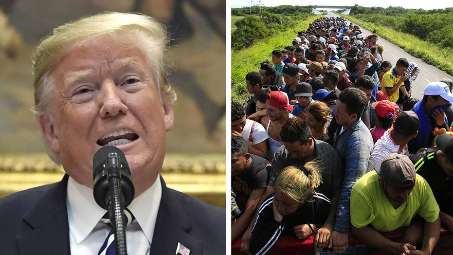 Immigration showdown heats up in final days before midterms