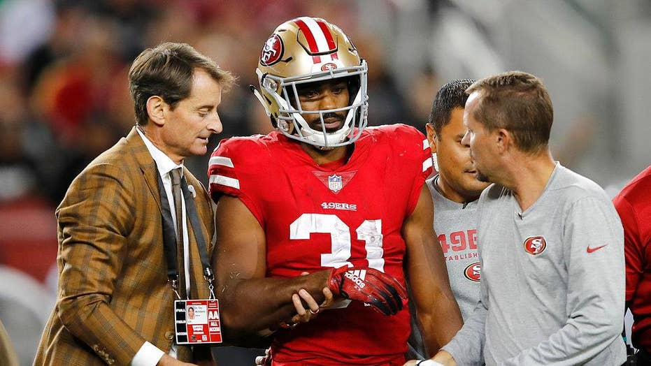 Gruesome right forearm injury sidelines 49ers running back
