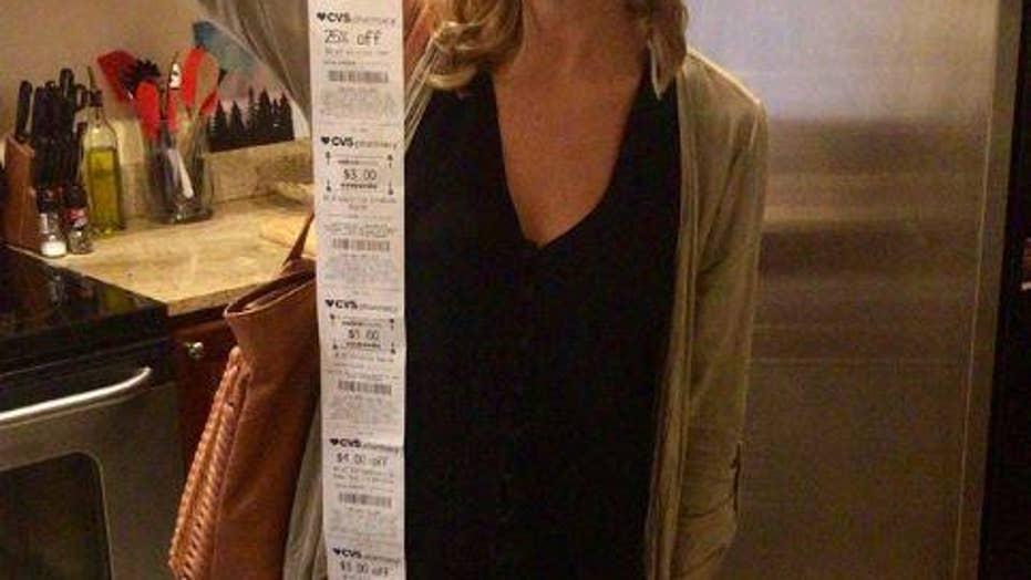 CVS customer gets 6-foot receipt