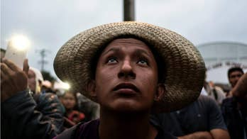 Trump sued by caravan, claims constitutional rights