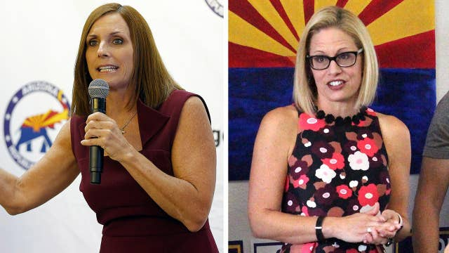 McSally and Sinema locked in tight race