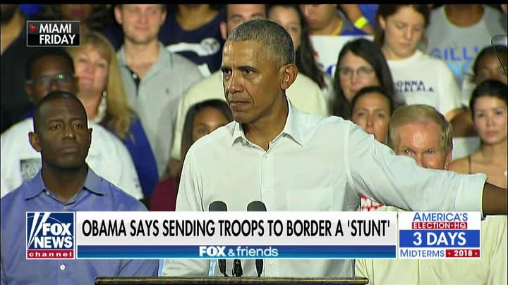 Bongino Rips Obama for Saying Sending Troops to Border Is a 'Stunt'