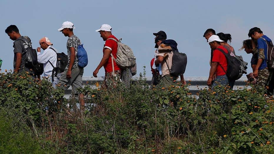 Do the caravan migrants have standing to sue Trump?