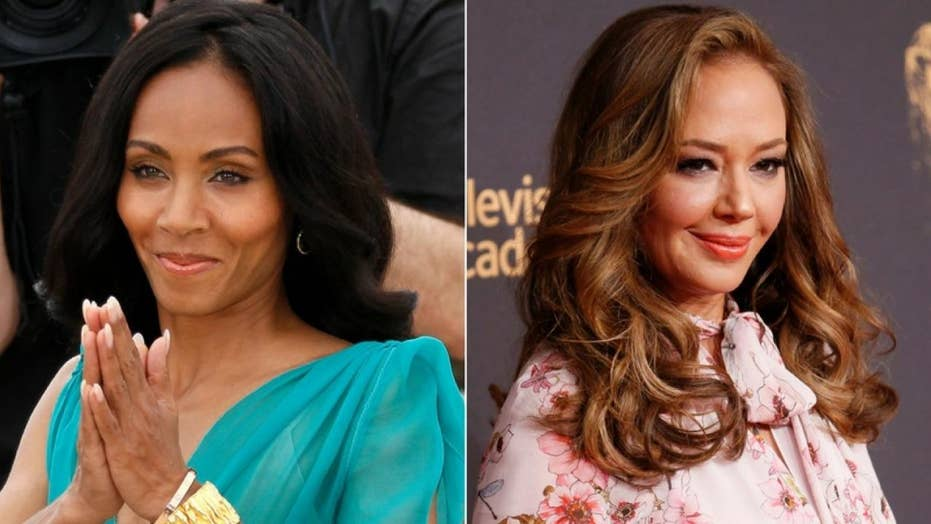 Leah Remini and Jada Pinkett Smith at odds over Scientology
