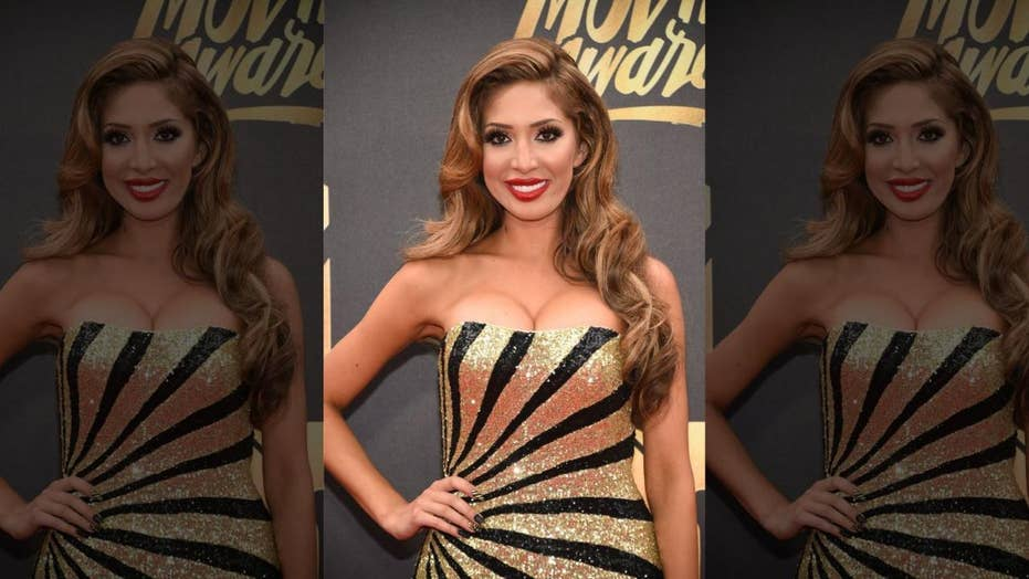 Reality star Farrah Abraham pleads guilty to resisting police