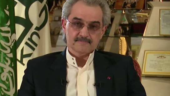 One-on-one with Prince Al-Waleed bin Talal