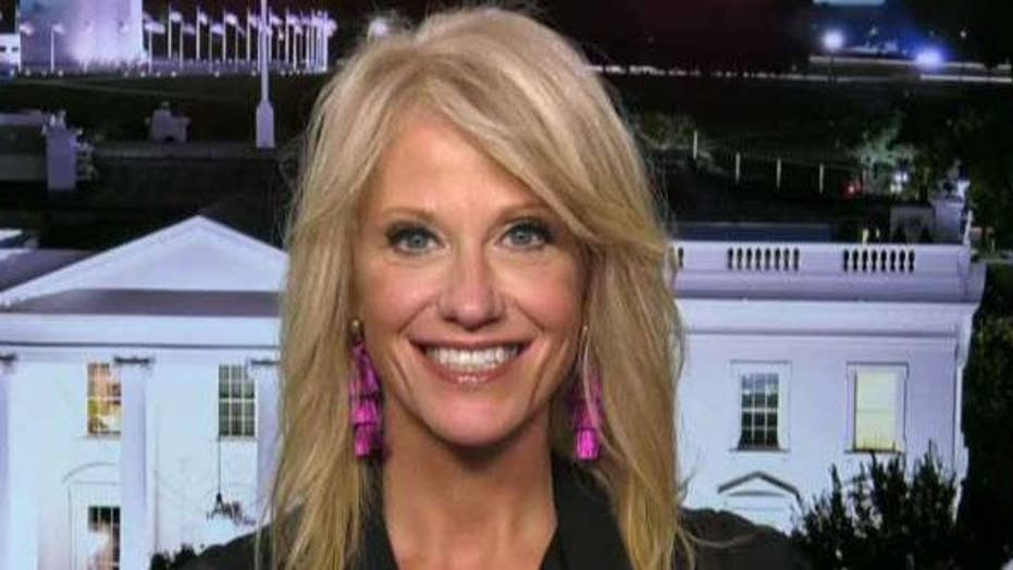 Kellyanne Conway on the booming Trump economy