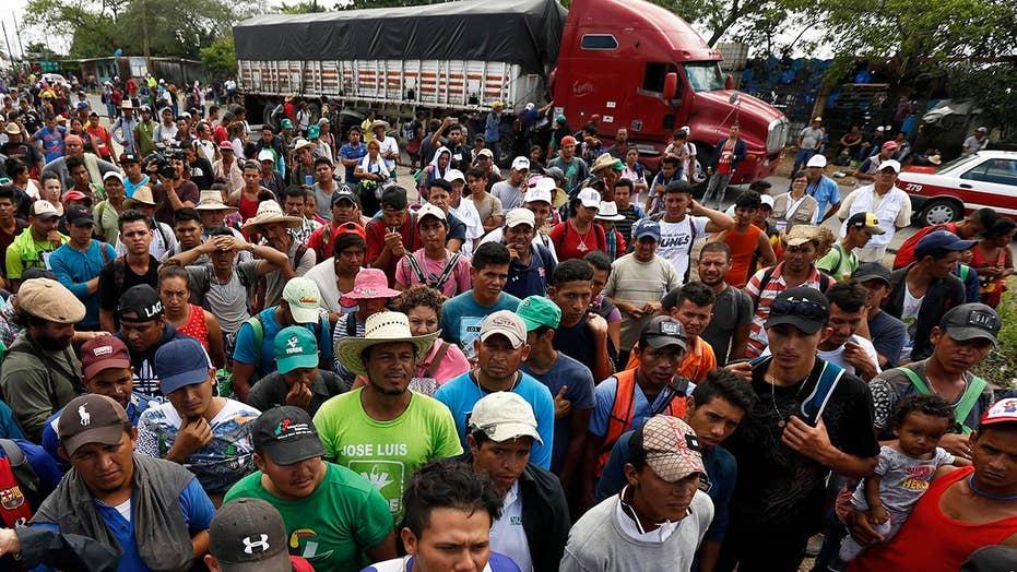 Thousands heading for Veracruz, Mexico