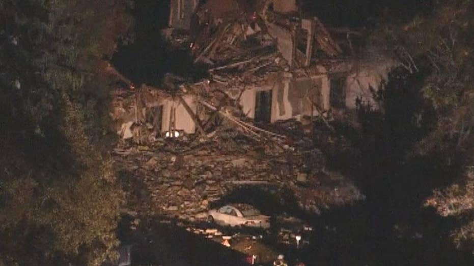 Developing: reported gas explosion in Pa., destroys homes