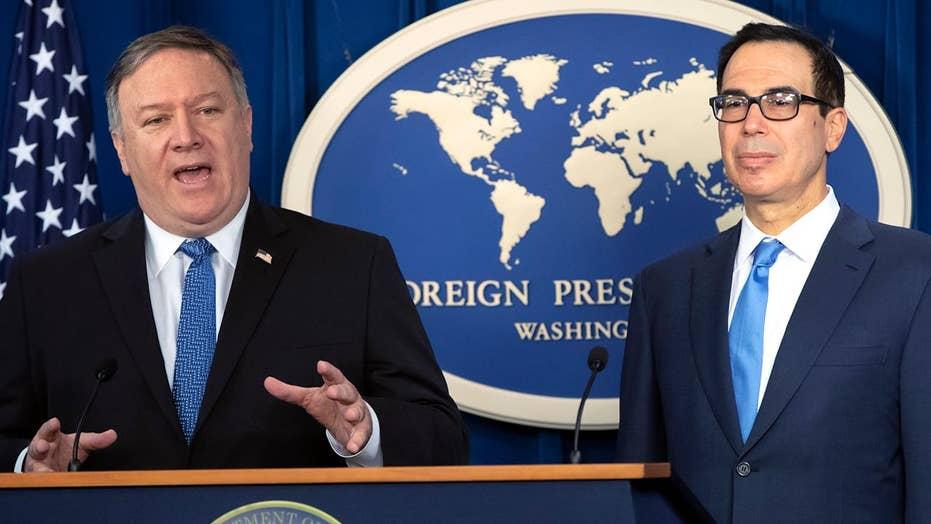 Pompeo, Mnuchin detail new Iran sanctions