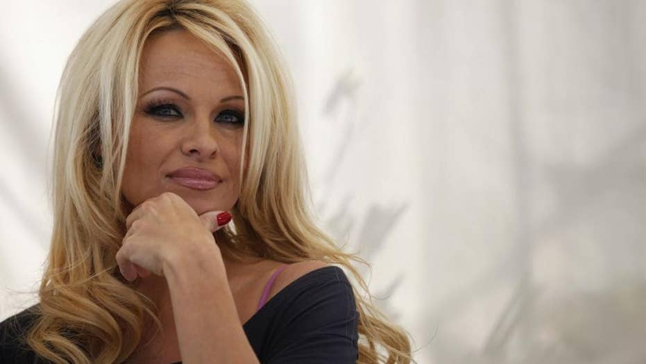 Pamela Anderson Shows Off Dancers Body In Steamy Surprise -8406