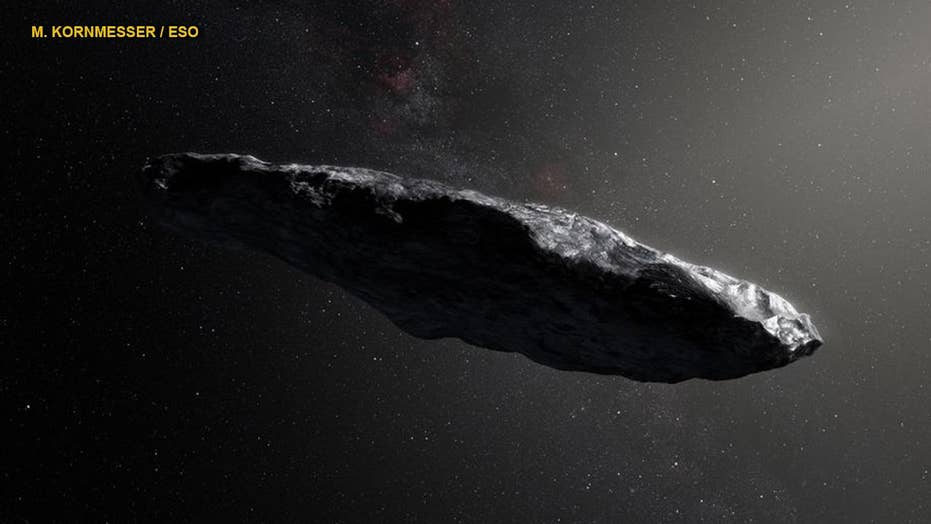Mysterious interstellar object could be alien 'lightsail'