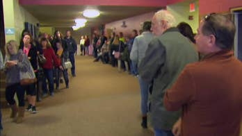Voters pack polling stations in Indiana