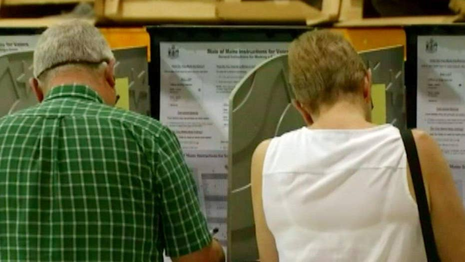 Voters head to the polls with election security on the mind