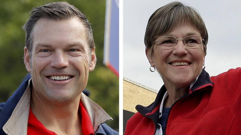 Polls tighten in Kansas gubernatorial race