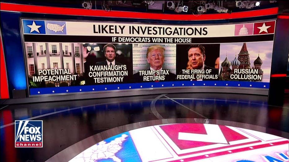 Judge Nap Says Dems Will Launch Investigations If They Take the House