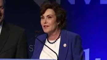 Democrat Jacky Rosen defeats GOP incumbent Dean Heller in Nevada Senate race