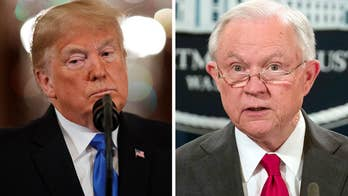 Trump reacts to midterm results amid Sessions's departure