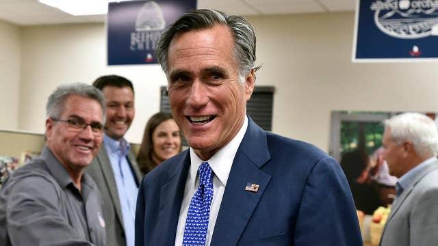 Mitt Romney gives victory speech in Utah