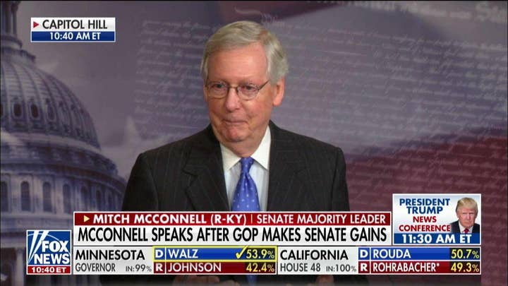McConnell: Harassing President Trump for Tax Records 'Might Not Be a Smart Strategy'