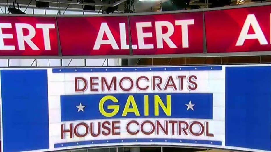 Fox News projects Democrats gain control of the House