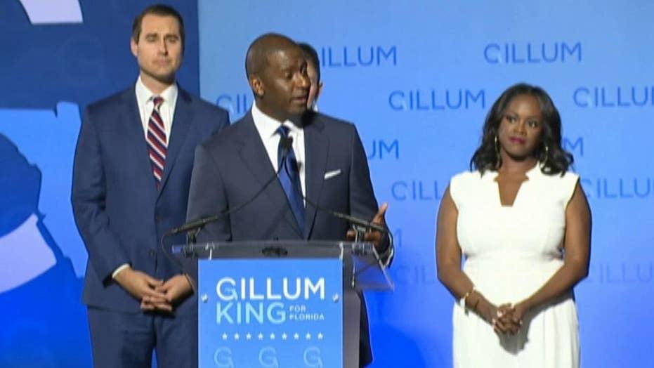 Andrew Gillum concedes Florida gubernatorial race