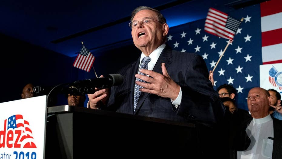 Menendez holds off GOP challenger Hugin in NJ Senate race