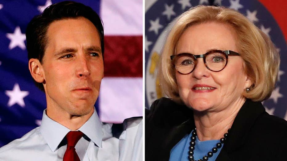 Hawley tops McCaskill by nearly six points in Missouri