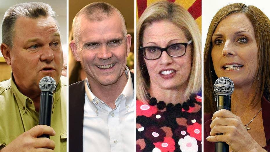 Arizona, Montana Senate races remain too close to call