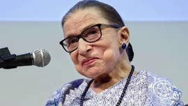Ginsburg misses Supreme Court session while recovering from fall