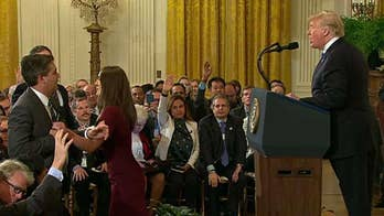 CNN's Jim Acosta has press pass suspended by White House, Sarah Sanders announces