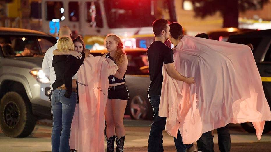 California shooting witness describes gunman, escaping bar