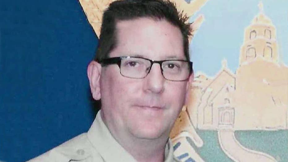 Sheriff's sergeant killed at bar 'loved helping people'