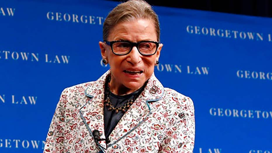 Justice Ruth Bader Ginsburg fractures 3 ribs in fall