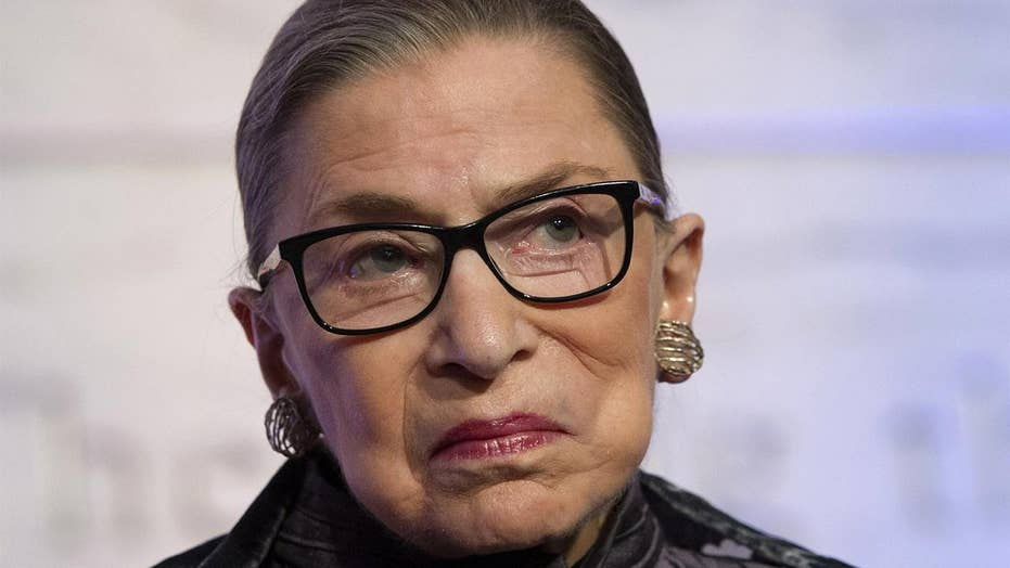 Justice Ginsburg in hospital after suffering fall