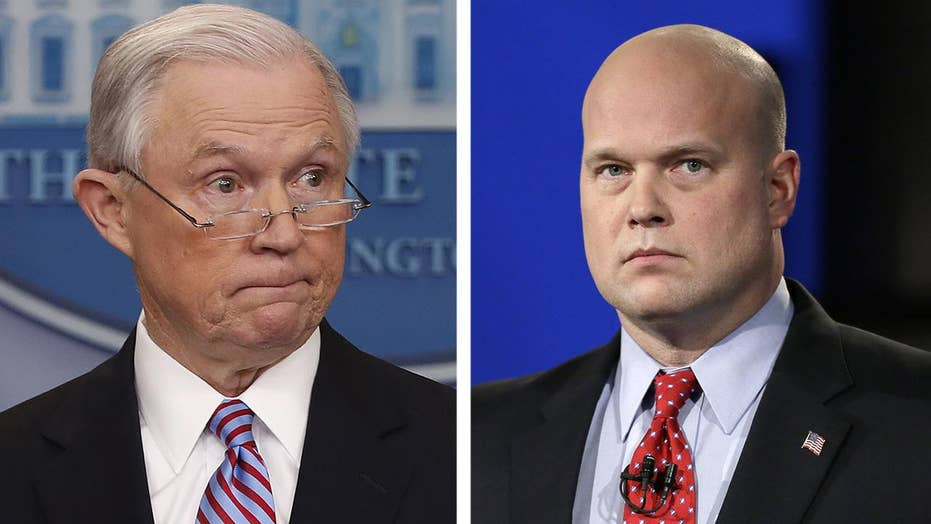 Democrats take aim at Sessions' departure and Whitaker