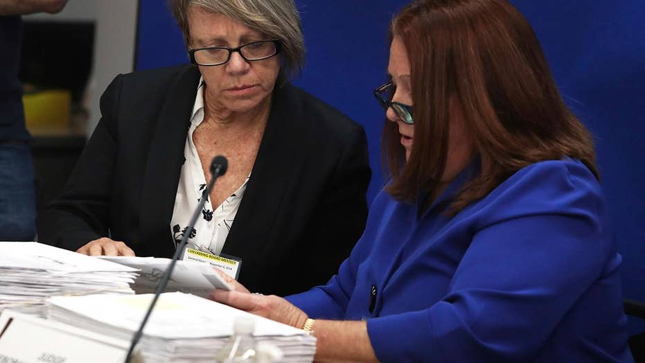 Florida's Senate, gubernatorial races headed for recount