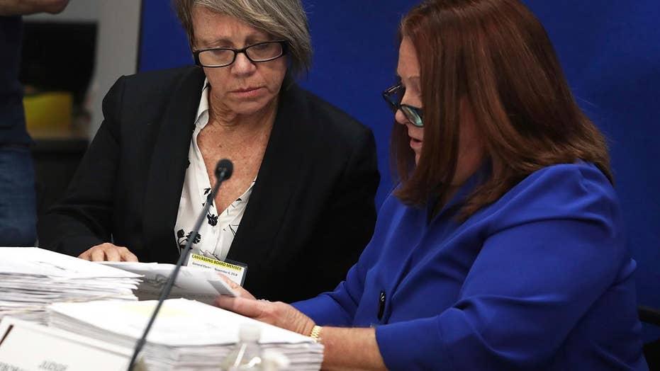 Florida's Senate, gubernatorial races headed for recount