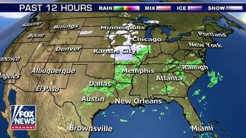 Storm system brings rain, snow to Northeast; freeze advisories up for a dozen states