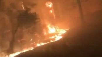 Bodycam video captures inferno in Paradise, California
