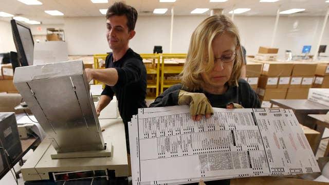 Arizona Senate race vote count to continue through Wednesday