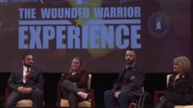 Wounded warriors share stories of sacrifice and recovery