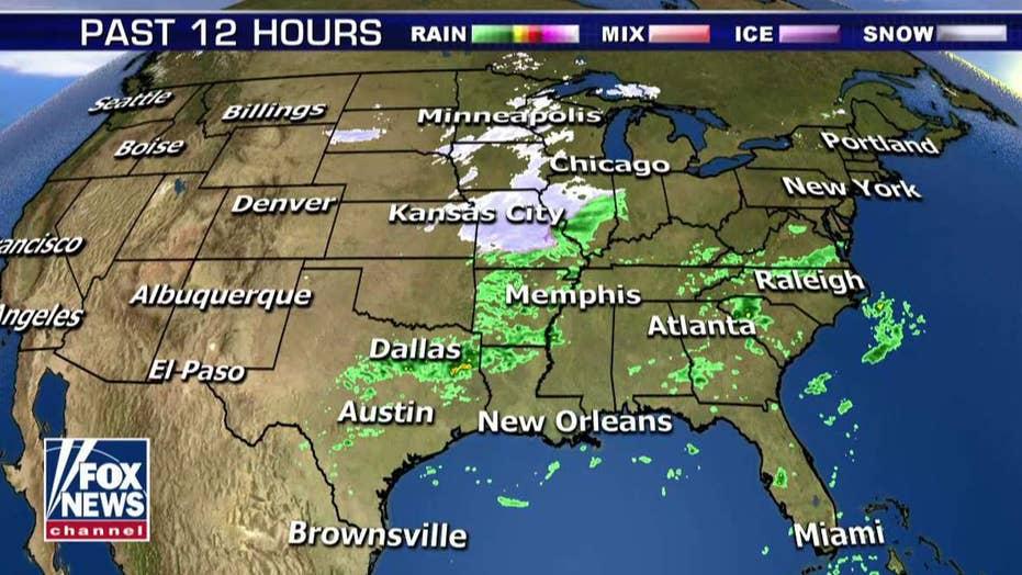 National forecast for Friday, November 9