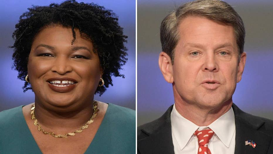 Abrams hopes to force runoff in Georgia governor's race