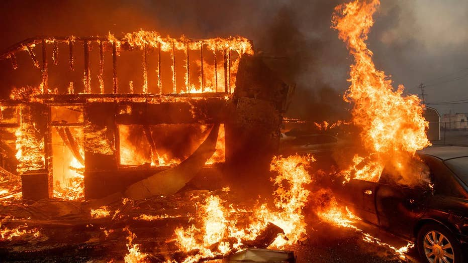 California wildfires force evacuations, rage across state