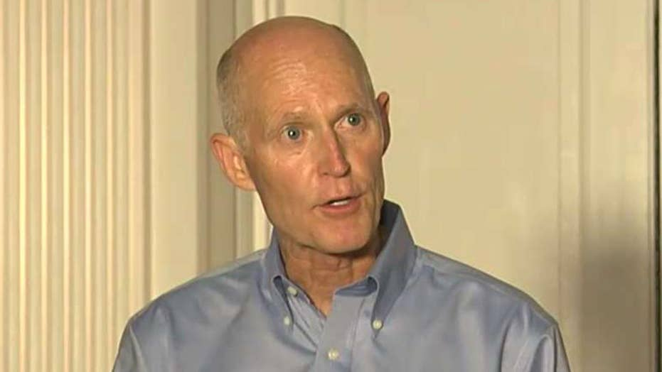 Rick Scott files suit, alleges wrongdoing in Florida Senate race