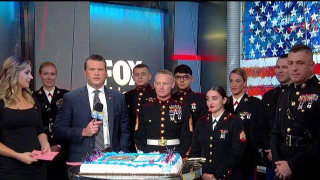 The US Marine Corps turns 243